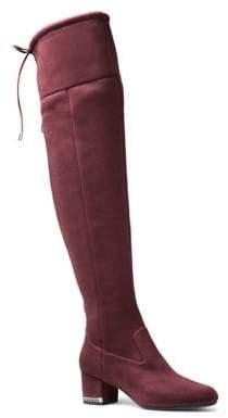 MICHAEL Michael Kors Jamie Zip Suede Over-The-Knee Boots