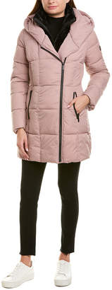 French Connection Bib Puffer Coat