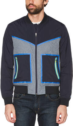 Original Penguin COLOR BLOCK BOMBER JACKET
