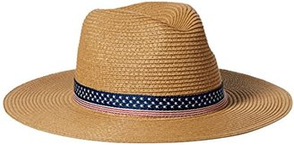 Collection XIIX Women's Stars and Striped Panama Hat $8.67 thestylecure.com