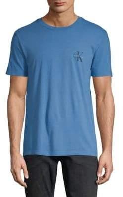 Calvin Klein Jeans Short-Sleeve Cotton Tee