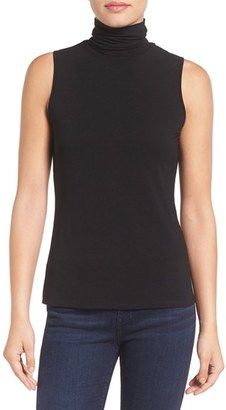 Women's Vince Camuto Sleeveless Turtleneck Top $49 thestylecure.com