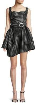 C/Meo CMEO COLLECTIVE Exhibit Blinded Belted Mini Dress