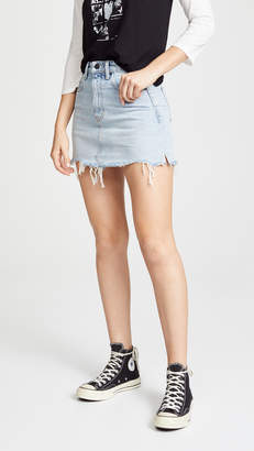 Alexander Wang Denim x Bite Skirt
