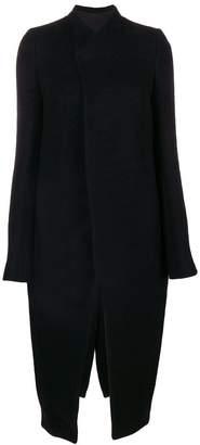 Rick Owens wrap front coat