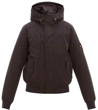 49 Winters - The Bomber Hooded Down Filled Jacket - Mens - Black