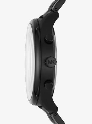 Michael Kors Merrick Black-Tone Watch