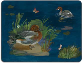 Avenida Home - Nathalie Lete Ducks in a Creek Table Mat - Wigeon Duck