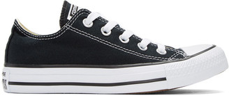 Converse Black & White Classic Chuck Taylor All Star OX Sneakers $50 thestylecure.com