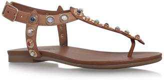 Carvela Studded Leather Kankan Sandals