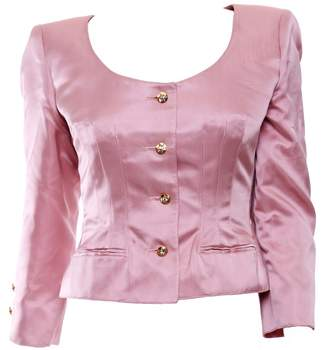 Valentino Pink Silk Jackets