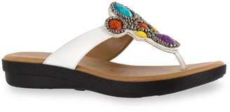 Easy Street Shoes Begem Women's Jeweled Sandals