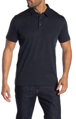 Theory Bron Jacquard Polo Shirt