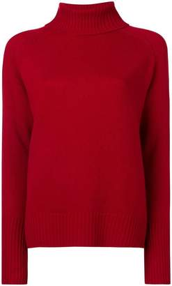 Lee Mathews knit roll neck jumper