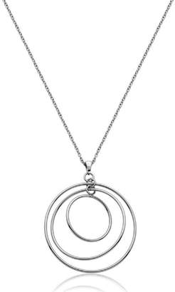 Bling It Around Again 3d Disc Necklace