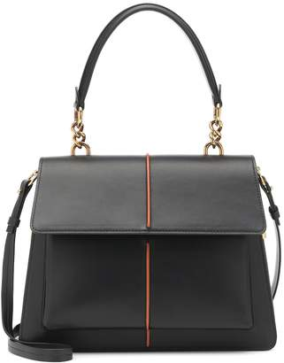 Marni Attache' leather shoulder bag