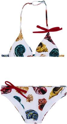 Dolce & Gabbana shell print bikini