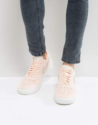 Nike Force 1 Ultra Flyknit Low Trainers In Pink 817419-601