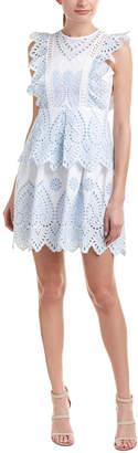Few Moda Eyelet A-Line Dress