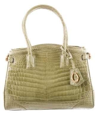 Cece Cord Crocodile Handle Bag
