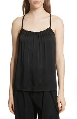 Vince Gathered Neck Camisole