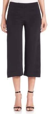Cushnie et Ochs Cropped Zip-Detail Pants