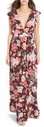 Women's Majorelle Sweet Pea Maxi Dress $278 thestylecure.com