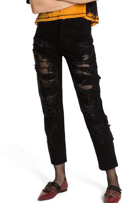 Tommy Hilfiger Punk Denim Ripped Jean