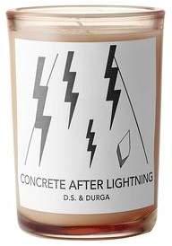 D.S. & Durga Concrete After Lightning 7 oz candle