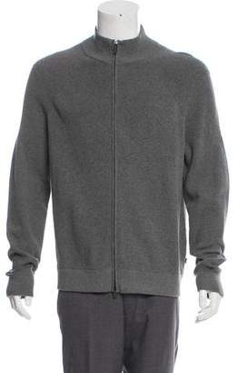 Michael Kors Woven Zip-Up Sweater w/ Tags