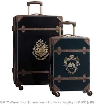 Pottery Barn Teen HARRY POTTER & Hard-Sided RAVENCLAW & Luggage Bundle, Set of 2, Blue/Black