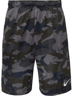 Nike Training - Camouflage-Print Dri-FIT Shorts - Anthracite
