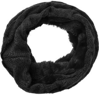 Simplicity Women's Winter Knit Neck Warmers Fuzzy Cowl Snood Infinity Scarves