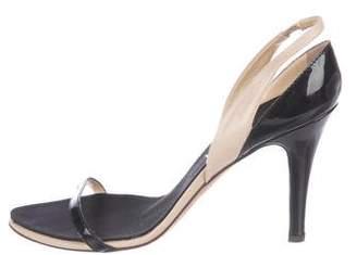 Giuseppe Zanotti Leather Slingback Sandals