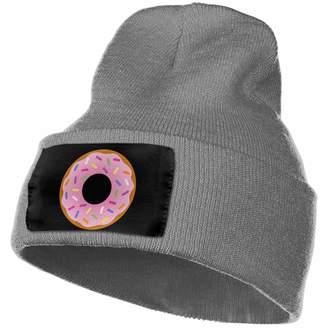 Karen Felix Beanie Hat Knit Hat Cap Cartoon Donuts Unisex Cuffed Plain Skull Knit Hat Cap Head Cap