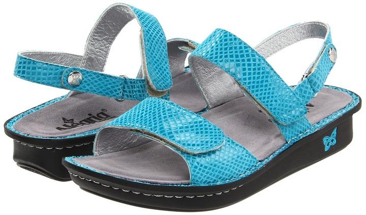 Alegria Verona (Ocean Opal Snake Patent) - Footwear
