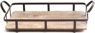 Stratton Home Decor Wood & Metal Trays