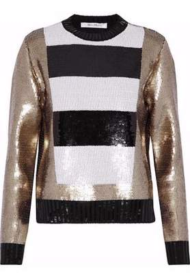 Max Mara Sequined Virgin Wool Sweater