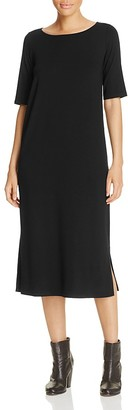 Eileen Fisher Ballet Neck Dress $188 thestylecure.com