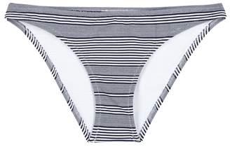 Heidi Klein Cote Sauvage Navy Striped Bikini Briefs