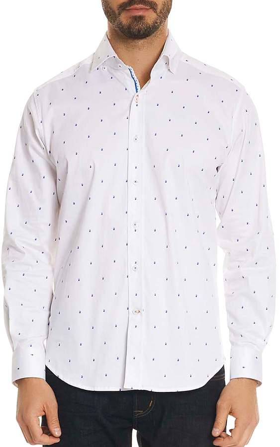 Mack Paisley Classic Fit Button-Down Shirt