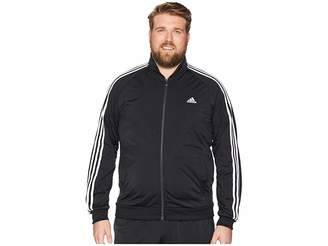 adidas Big Tall Essentials 3-Stripes Tricot Track Jacket