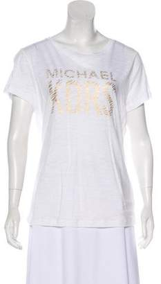 MICHAEL Michael Kors Short Sleeve Graphic Print T-Shirt w/ Tags