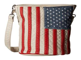 Americana M&F Western Slim Bucket Bag