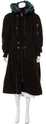 Jean Paul Gaultier Faux Fur Long Coat
