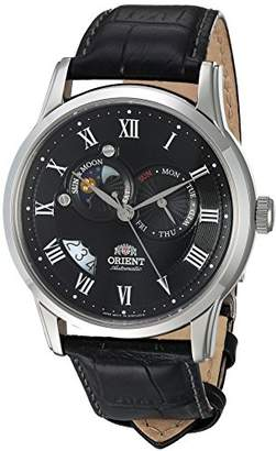 Orient Men's FET0T002B0 Sun and Moon Analog Display Japanese Automatic Watch