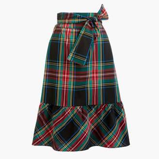 J.Crew Big bow midi skirt