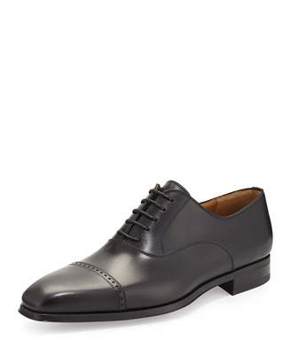 Magnanni Wolden Lace-Up Leather Oxford