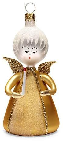 De Carlini Glass Angel Ornament