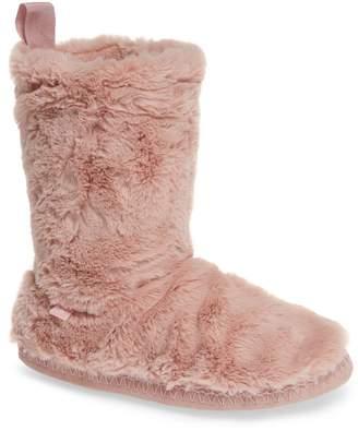 Joules Faux Fur Slipper Sock